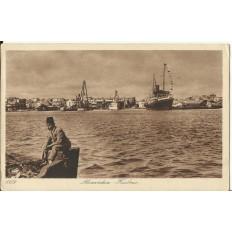 CPA: EGYPTE, Le Port d'Alexandrie, années 1910