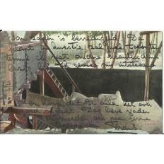 CPA: EGYPTE, Statue de Ramsès II, années 1900