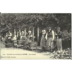 CPA (REPROD.): VANNES, Les Cuisines d'une Noce, vers 1900.