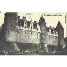 CPA (REPROD): JOSSELIN, La Grande Procession du 8 sept., vers 1900.