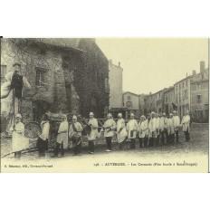 CPA (REPROD): AUVERGNE. Les Cornards, Sauxillanges, vers 1900.