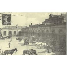 CPA: (REPRO) LE MANS, La Gare, vers 1900.