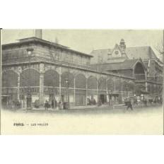 CPA: (REPRO) PARIS, Les Halles, vers 1900.
