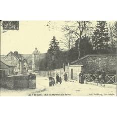 CPA: (REPRO). Les Andelys, Rue du Marché aux Porcs, vers 1900.