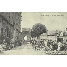 CPA: (REPRO). ORANGE, La Foire aux Oignons, vers 1900.
