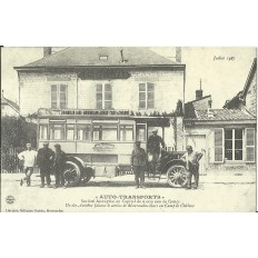 "CPA: (REPRO). MOUMELON, ""Auto-Transports"", vers 1900."