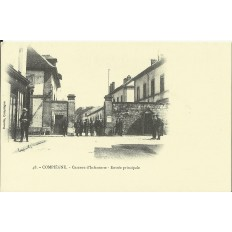CPA: (REPRO). COMPIEGNE, Caserne d'Infanterie, vers 1900.