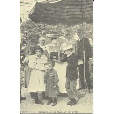 CPA: (REPRO). FETE FORAINE, Le Marchand de Coco, vers 1900.