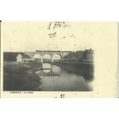 CPA: (REPRO). WIMEREUX, Le Viaduc, vers 1900.