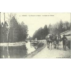CPA: (REPRO). STENAY, Les Bords de la Meuse, vers 1900.