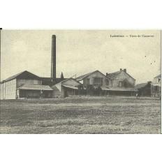 CPA: (REPRO). LUBERSAC, Usine de Conserves, vers 1900.