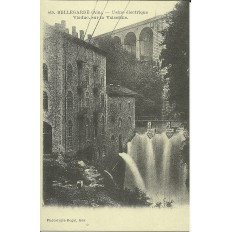 CPA: (REPRO). BELLEGARDE, Usine Electrique, vers 1900.
