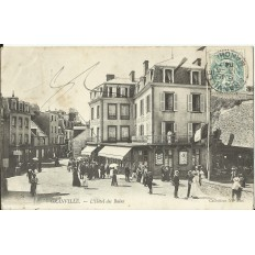 CPA: GRANVILLE, L'Hotel des Bains, vers 1900