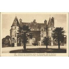 CPA: CHERBOURG (env.), Vieux Chateau de Tourlaville, vers 1940
