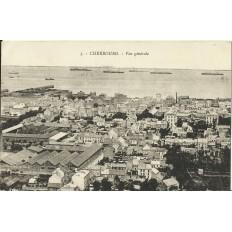 CPA: CHERBOURG, Vue Générale, vers 1900
