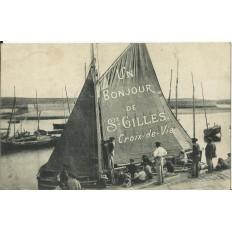 CPA: SAINT-GILLES CROIX DE VIE, années 1920