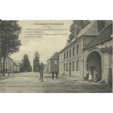 CPA: Chapaubert-la-Bataille, La Place, vers 1910