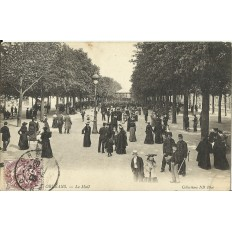 CPA: ORLEANS, Le Mail, vers 1900.