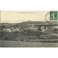 CPA: RIEUTORT, Vue Générale, vers 1910