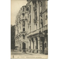 CPA: VICHY, Hotels du Havre et Lutecia, vers 1910