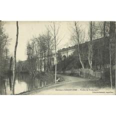 CPA: AUGOULEME (env.), Viaduc de Foulpougne, vers 1900