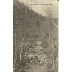 CPA: GARABIT, Un coin de la Vallée, vers 1900