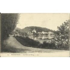 CPA - PIERREFONDS, Les Bords de l'Etang - Années 1900
