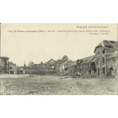 CPA - ROYE, Sucrerie Mandrou, rue de Paris - Années 1920