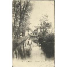 CPA - ETAMPES, Le MPoulin du Port, Années 1900