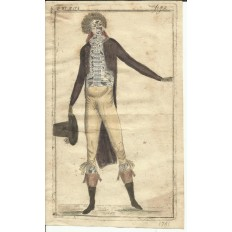*GRAVURE de MODE du XVIIIe s. ENGRAVING FASHION XVIIIth. (2)