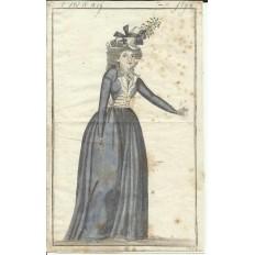 GRAVURE de MODE du XVIIIe s. ENGRAVING FASHION XVIIIth. (3)