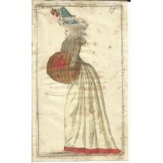 GRAVURE de MODE du XVIIIe s. ENGRAVING FASHION XVIIIth. (9)