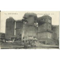 CPA - SAINT-DIZIER, Les Hauts-Fourneaux de Marnaval, vers 1910