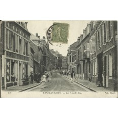 CPA: MERS-LES-BAINS, La Grande Rue, vers 1910