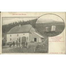 CPA: COL DE LOUSCHPACH, DOUANIERS AVANT GUERRE, vers 1910