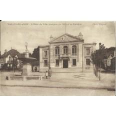 CPA: VAILLY-sur-AISNE, Hotel de Ville, vers 1930