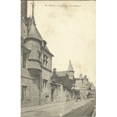 CPA: BOURGES, Le Musée, vue extérieure, vers 1900