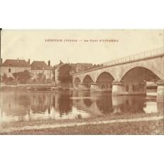 CPA: LAROCHE, Le Pont d'Epineau, vers 1920
