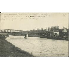 CPA: DORMANS, Pont de Try, vers 1910