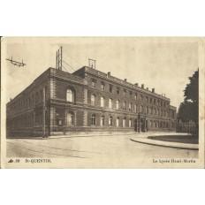 CPA: SAINT-QUENTIN en YVELINES, Lycée Henri-Martin, vers 1930