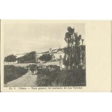 CPA: VILLENA, El Santuario de Las Virtudes, années / anos 1900