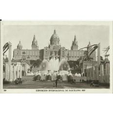 CPA: BARCELONA, Exposicion International, année / ano 1929