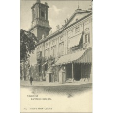 CPA: VALENCIA, Capitania General, années / anos 1900