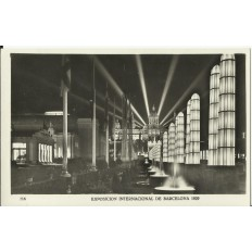 CPA: BARCELONA, Exposicion International, 1929