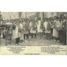 CPA: (REPRO). SALIES-de-BEARN, L'ous Piquetalos, vers 1900.