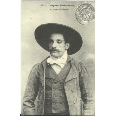 CPA: (REPRO). Paysan Bourbonnais, vers 1900.