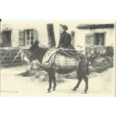 CPA: (REPRO). GASCOGNE, Contes Basques, vers 1900.