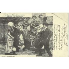 CPA: (REPRO). BERRY, La Charibaude, vers 1900.