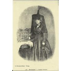 CPA: (REPRO). BRESSANE, Ancien Costume, vers 1900.