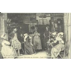 CPA: (REPRO). BOURG, Les Ebaudes en Bresse, vers 1900.